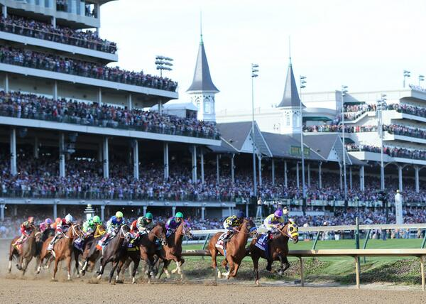 Kentucky Derby 140 1st turn