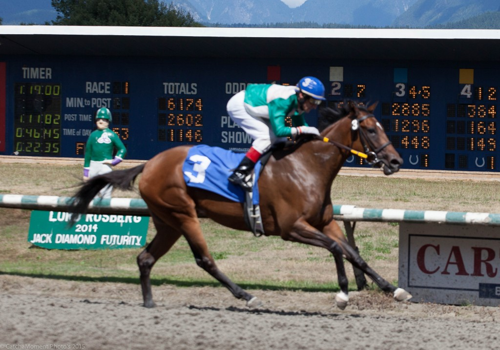 FOURTH IN COMMAND WAS AN EASY WINNER OF THE OPENER ON SUNDAY  - PATTI TUBBS PHOTO