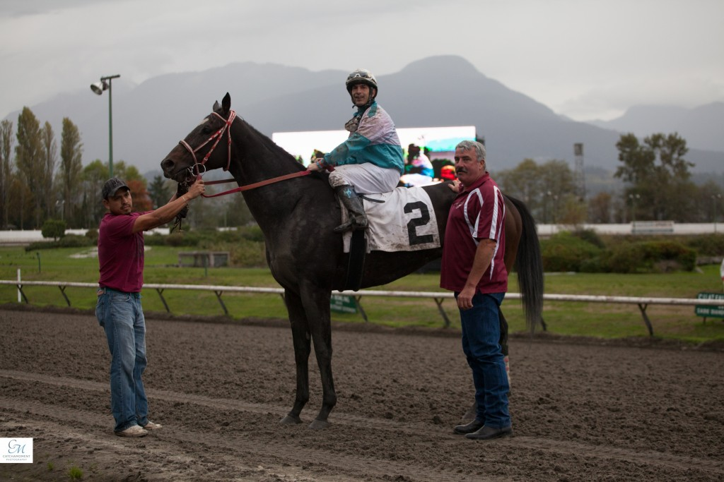 NEW JERSEY JOE IN THE WINNERS CIRCLE - PATTI TUBBS PHOTO
